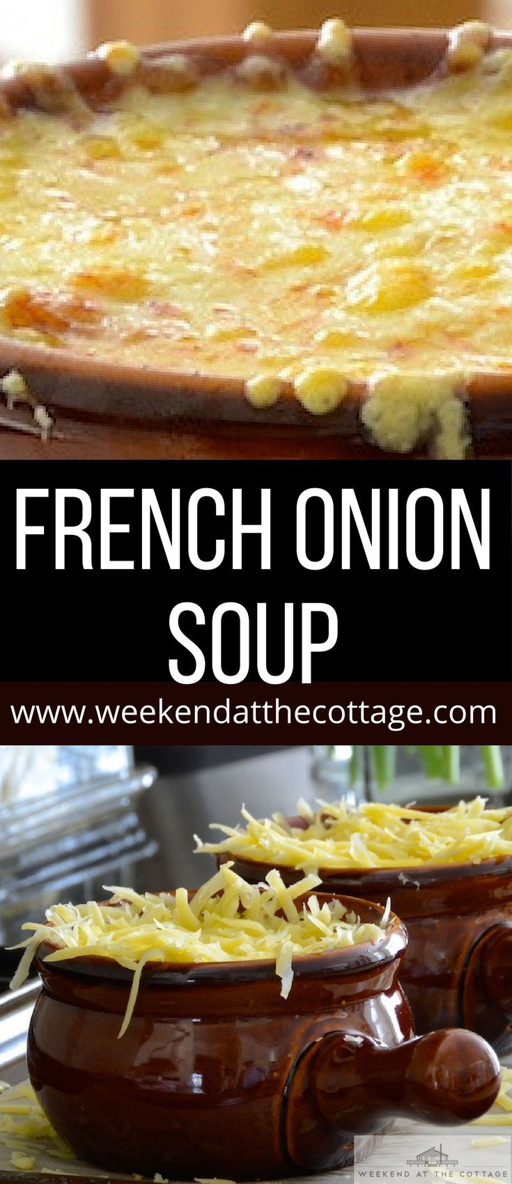 A RICH, FLAVOURFUL SOUP TOPPED WITH CRUSTY FRENCH BREAD AND MELTED GRUYÈRE CHEESE, THIS EASY FRENCH ONION SOUP RECIPE IS PERFECT. Serve as a starter or main course. #frenchonionsoup #easyfrenchonionsoup #onionsoup #howtomakefrenchonionsoup