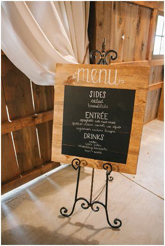 Barn wedding menu | Amanda Adams Photography | see more at http://fabyoubliss.com