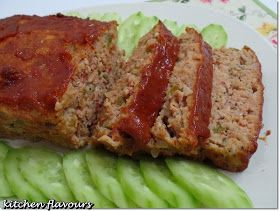 This meatloaf is really delicious! I've read the great reviews about this meatloaf from Paula Deen's website and knew that I will just have ...