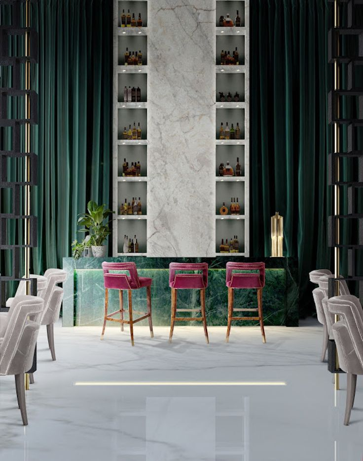 Exclusive Restaurant Design  #estateluxury #luxuryinterior #moderninteriordesign @brabbu