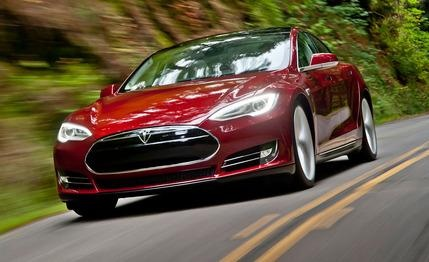 2013 Tesla Model S  Priced to impress>?but still a great review: http://www.caranddriver.com/reviews/2013-tesla-model-s-reviews#