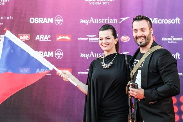 "Marta & Vaclav on red carpet: ""All the sex is coming out of the mouth"""