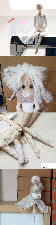 work in progress doll tilda