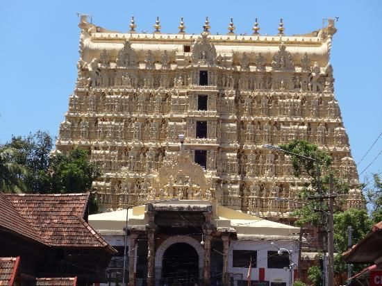 Sree Padmanabhaswamy Temple, पश्चिम नाडा, पूर्व फोर्ट, केरल is a Vedic temple dedicated to Lord Vishnu located in Thiruvananthapuram, India, in the state of Kerala. 22 billion dollar treasure ( gold, jewels, artifacts ) found. http://www.sreepadmanabhaswamytemple.org/index.htm http://srirangaminfo.com/srirangamphotos/Sri-Padmanabhaswamy-Temple-photos/ http://www.economist.com/blogs/banyan/2013/02/temples-riches