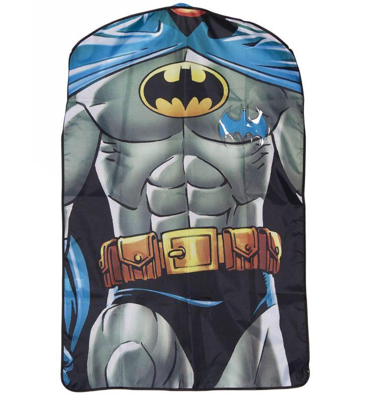 Batman Torso Suit Cover Garment Suit Carrier DC Comics Novelty Mens Suit Gift    eBay