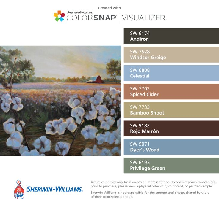 I Found These Colors With Colorsnap Visualizer For Iphone By Sherwin Williams Andiron Sw Windsor Greige Celestial Ed Cider Bamboo Shoot