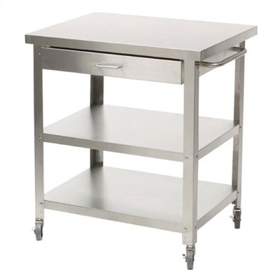 Danver Stainless Steel Kitchen Cart | AllModern