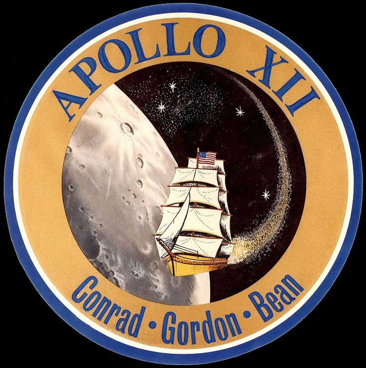 space mission patches | Patch: Apollo 12 | Space ...