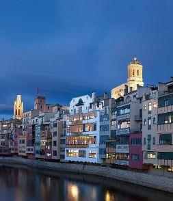 Girona de nit (Catalunya-Catalonia)