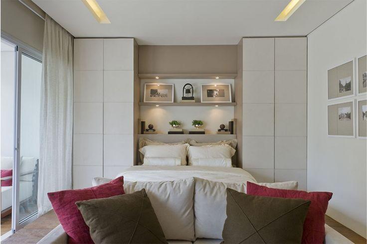 Небольшая студия в Бразилии от DEBORA AGUIAR - Дизайн интерьеров   Идеи вашего дома   Lodgers