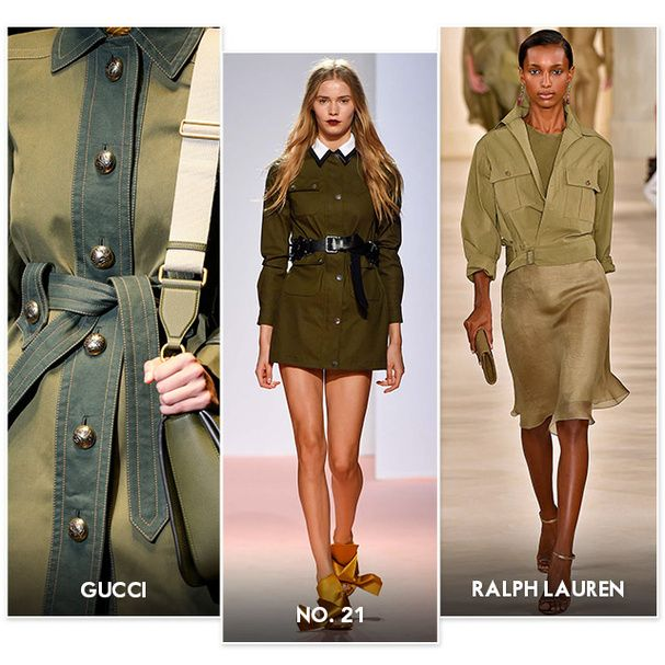 Tendance n°15 : lady militaire