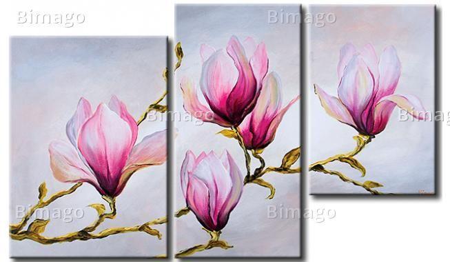 Hedendaagse kunst Verfijnde magnolias