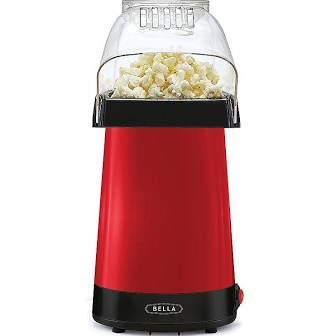 Bella Hot Air Popcorn Maker, Red