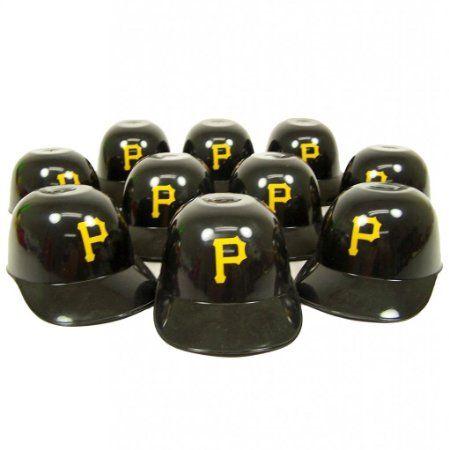 Pittsburgh Pirates Official MLB 8oz Mini Baseball Helmet Ice Cream Snack Bowls (10)