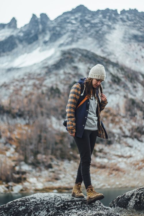 This outfit just looks so cozy! Lots of layers for going in and out of doors all the time, weather ready clothes help.