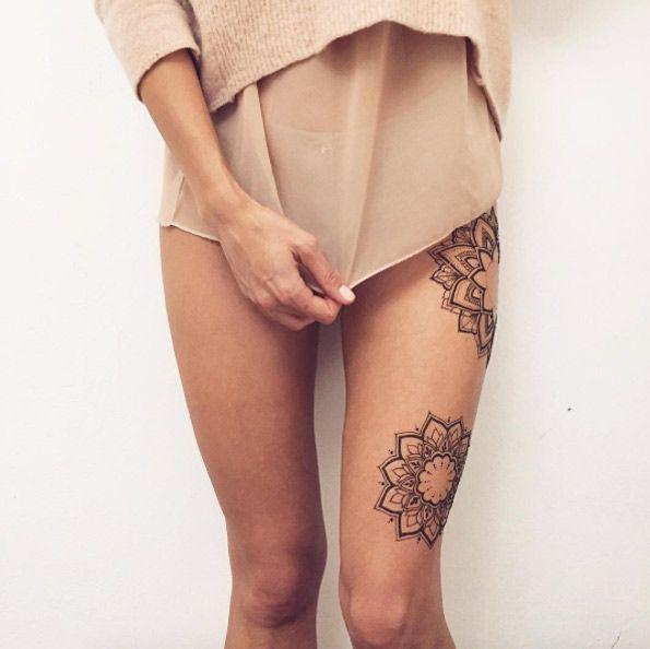 36 Perfect Mehndi Tattoo Designs by Veronica Krasovska