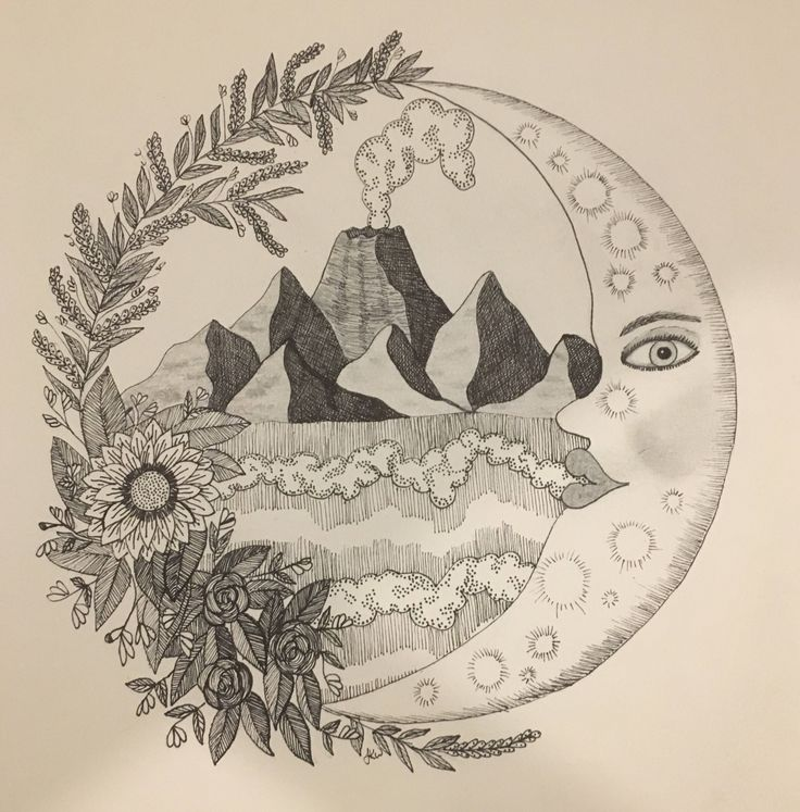 A personal favourite from my Etsy shop https://www.etsy.com/au/listing/565602027/moon-guardian-wall-art-print-of-original