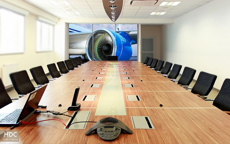 Videoconference room for 21 people in Kalisz / Poland.   #hdcinema #cinema #room #conferencecenter #conference #office #bespokeroom #design #architecture #musthave