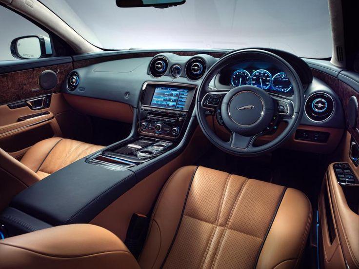 Jaguar cars interior
