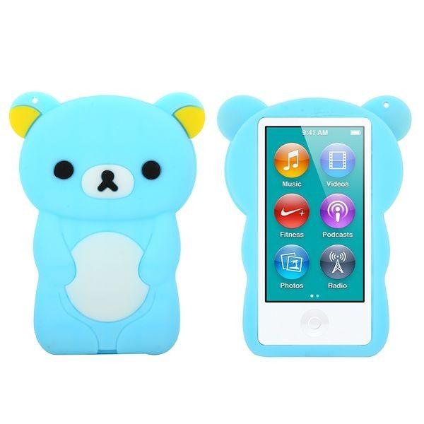 Happy Bear (Lyse Blå) iPod Nano 7 Deksler
