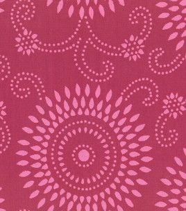 Home Decor Fabric Annie Selke Esha Raspberry/Pink