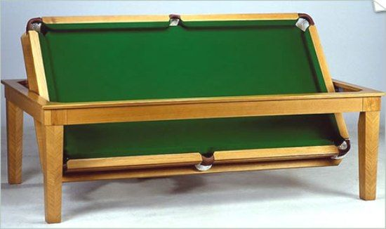 Genial Billiards | Pool Table Dining Table, Dinning Room Tables, Table