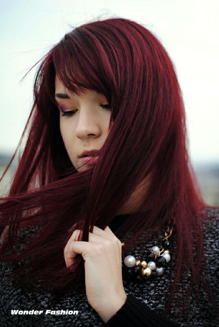 1001 Ideen Fur Rotbraune Haare Strahlen Sie Im Neuen Look Lange Haare Bilder Kirschrote Haare Lange Haare