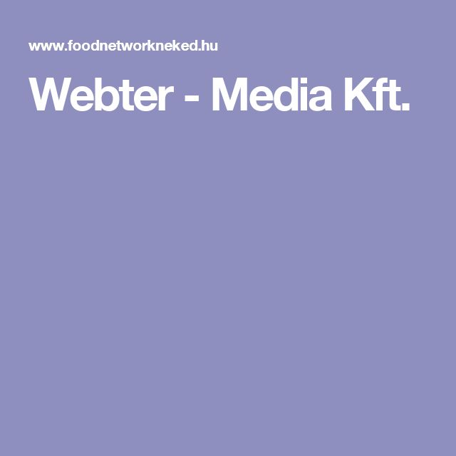 Webter - Media Kft.