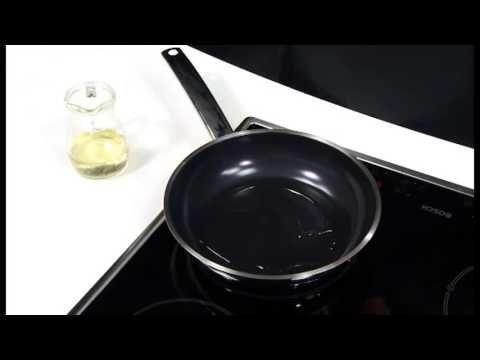 Silit stekepanne med mineralbasert slippbelegg - CeraProtect
