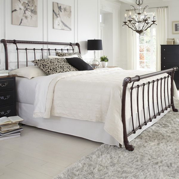 Fashion Bed Group Legion Sleigh Bed   Complete your bedroom with the Legion  Bed and become romanced by its gently sloping  sleigh bed design. 30 best Bedding images on Pinterest   Bed headboards  Bedroom