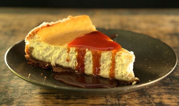 Get the recipe for Smoked Cheesecake with Burnt Sugar Cream Sauce featured in Steven Raichlen's Project Smoke, Ep 113. Adapted from the book Project Smoke.