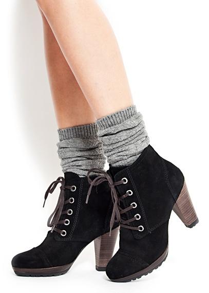 Outlet - MUJER - Calzado - Botas, Botines - Botín de piel