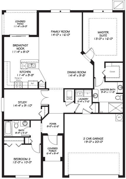 Beautiful Prestwick Ii Floor Plan In Tampa Bay Golf And