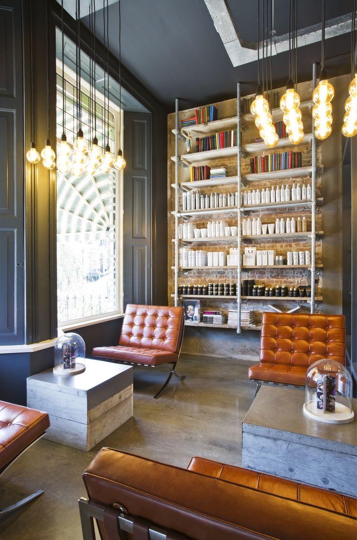 17 beste idee n over schoonheidssalon interieur op for Kapsalon interieur