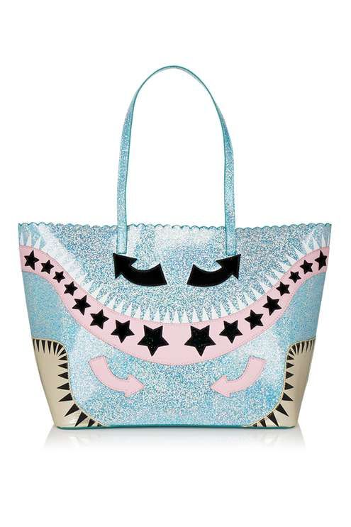 This cute and colourful tote bag by Skinny Dip features glittery detail and circus inspired embellishment. A spacious bag that's perfect for fitting in all your daily essentials! #Topshop