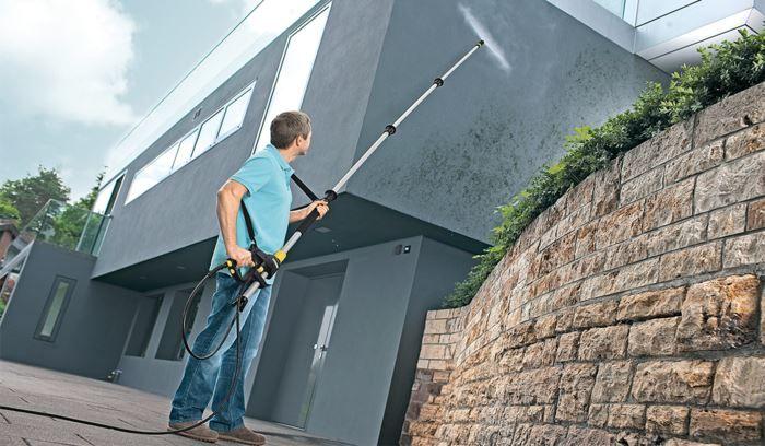 Gjør vårrengjøringen enkel med en høytrykksspyler - Byggmakker.no