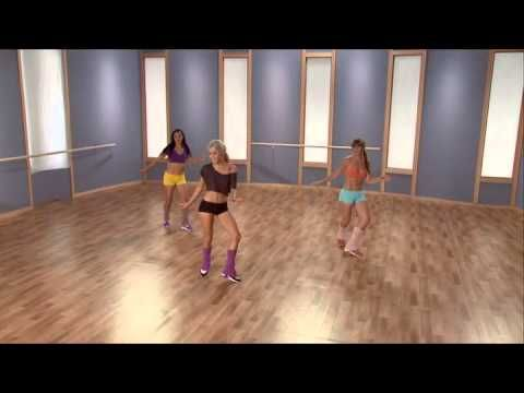 Dance with Julianne Cardio Ballroom - the entire 45 minutes routine from the DVD. This is hard to follow if you're like me and don't know the cha cha. From the parts I could do I god a good sweaty workout!