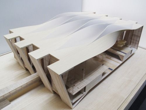 Scale Model of Proposal for New Mexico City Airport  Sordo Madaleno Arquitectos & Pascall+Watson, photography by Roberto Montalvo  2014