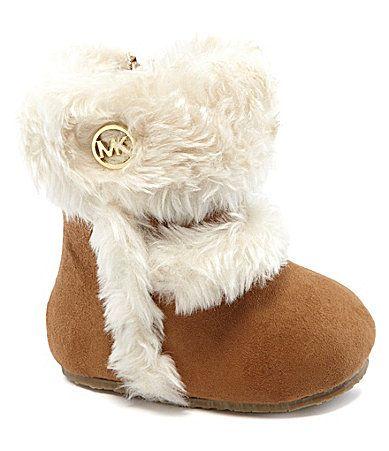 MICHAEL Michael Kors Infant Girls Grace Crib Boots #Dillards