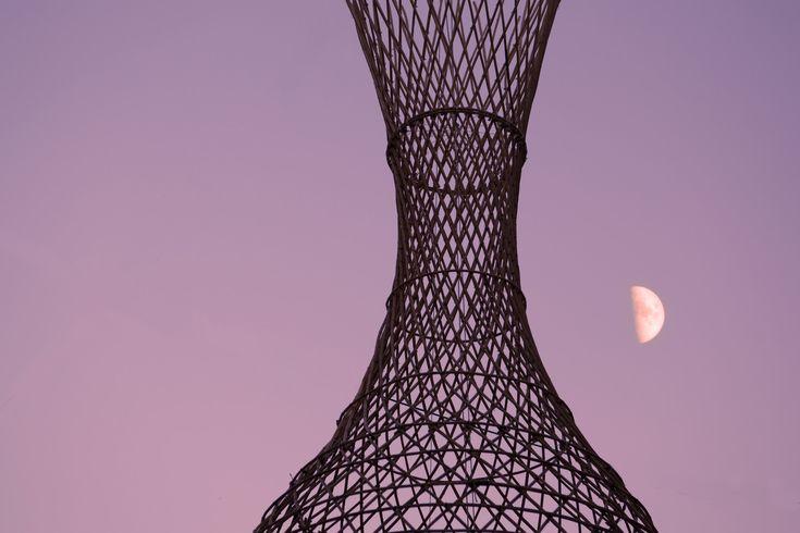 Galería de Proyecto WARKA: Torres de bambú que recogen agua potable del aire - 3