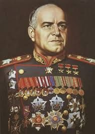 Georgy Konstantinovich was a Soviet career officer in the Red Army who, in the course of World War II, played a role in leading the Red Army drive through much of Eastern Europe to liberate the Soviet Union and other nations from the occupation of the Axis Powers and, ultimately, to conquer Berlin. He is the most decorated general officer in the history of the Soviet Union and Russia.