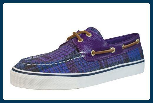 Sperry Top-Sider Bahama 2-Eye Halbschuh Purple Pla - Schnürhalbschuhe für frauen (*Partner-Link)