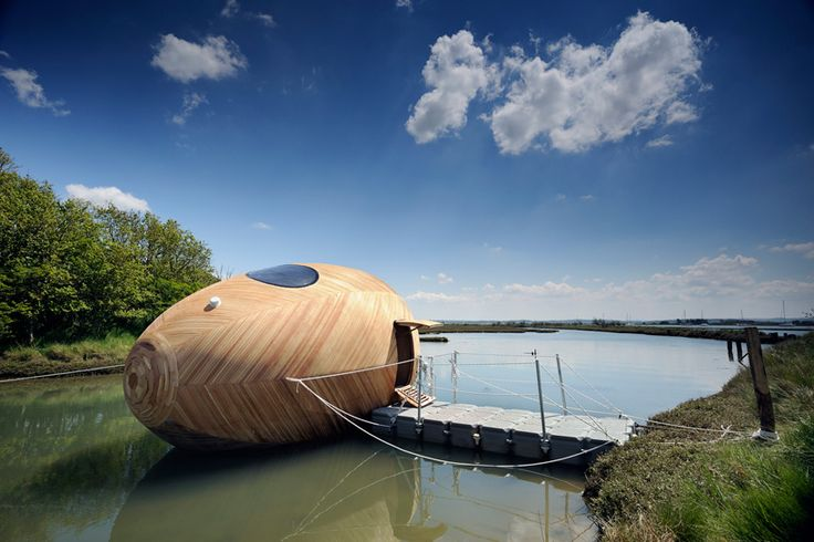 Designed as a studio space and personal experiment in minimal life by artist Stephen Turner, the