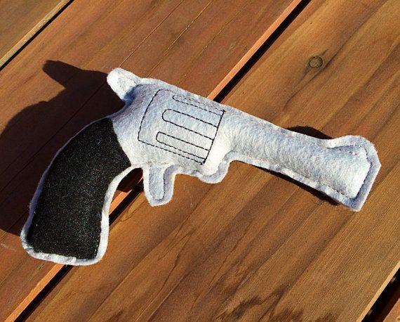 Felt Gun Pretend Revolver Play Pistol Cowboy by LittleFruits