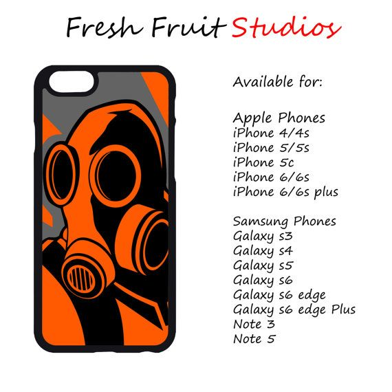 Post Apocalyptic Gas Mask Phone Case  iPhone by FreshAFstudios