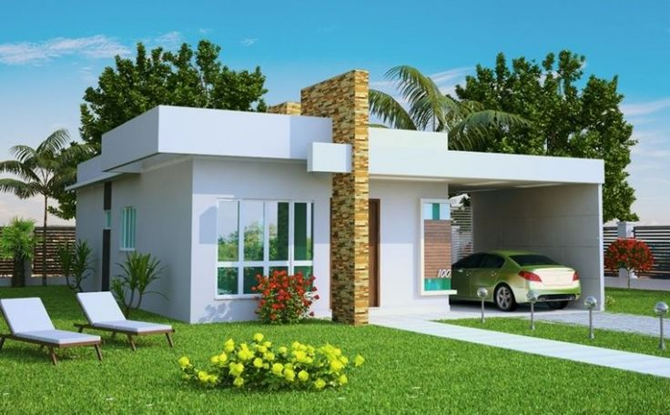 diseños de frentes de casas comunes