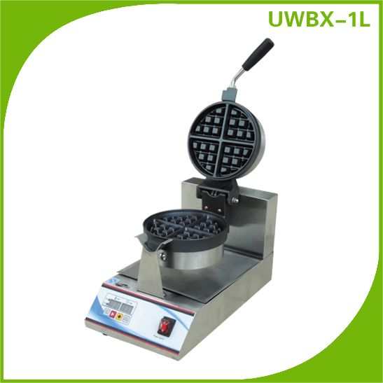 Restaurant Commercial Digital Control Rotary Waffle Maker/Machine Equipment UWBX-1L