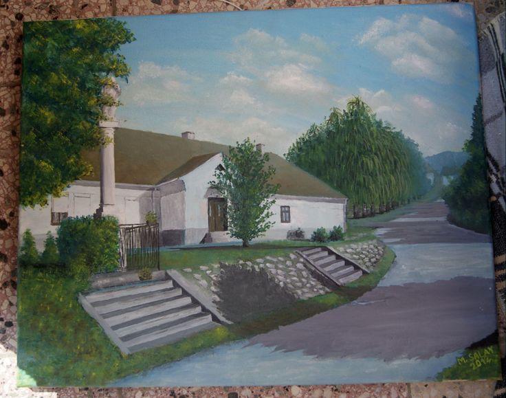 Jablonica olejomalba - Jablonica oil painting