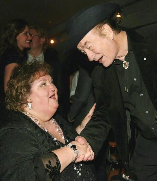 Rita McNeil and Stompin' Tom Connors. Two Great Canadian artists. Each had a unique song style of their own and the music will live on.
