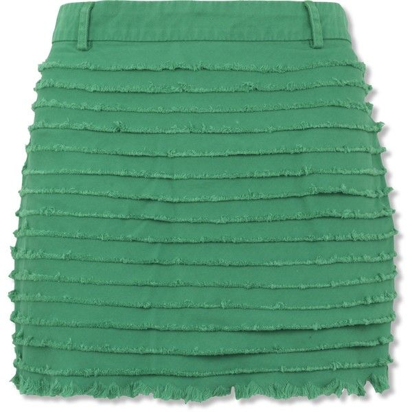 frayed: Causal Clothes, Grass Skirt, Green, Skirts Obsession, Dresses Skirts, Denim Skirts, Frayed Denim, Denim Grass